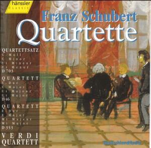 F. Schubert - Quartett Es-Dur D 87 & Menuett D-Dur D 86-Quartet-Chamber Music