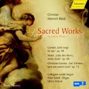 J. Chr. H. Rinck - Sacred Works - Geistliche Werke-Sacred Music