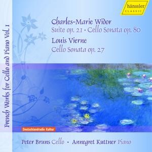 Ch.-M. Widor, L. Vierne  - French Works for Cello and Piano Vol. 1-Chamber Music