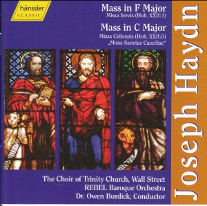 J. Haydn - Mass in F Major & Mass in C Major-Sacred Music