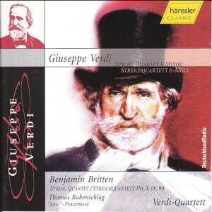 G. Verdi - String Quartet E-Minor-Chamber Music