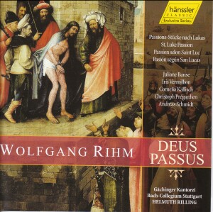 W. Rihm - Deus Passus-Sacred Music