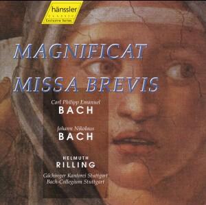 J. N. Bach, C.P.E. Bach - MAGNIFICAT - MISSA BREVIS-Sacred Music
