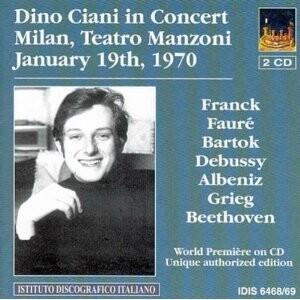 Dino Ciani in Concert-Piano-Enregistrement historique