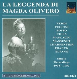 La Leggenda Di Magda Olivero: Works by Puccini, Verdi, Massenet, etc.-Voices and Orchestra