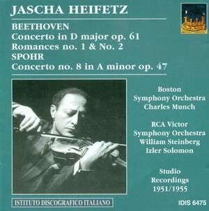Heifetz plays Beethoven and Spohr-Violin