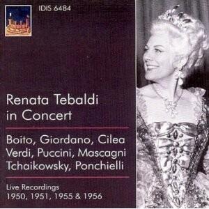 Renata Tebaldi in Concert -Voices and Orchestra-Opera & Vocal Collection