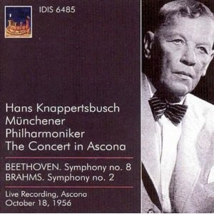 H. Knappertsbusch Conducted Beethoven, Brahms-Orchester-Orchestral Works