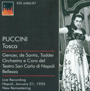 Puccini - Tosca - Vincenzo Bellezza, conductor-Voices and Orchestra-Opera Collection