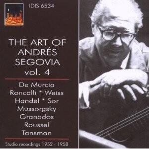 The Art of Andrés Segovia (guitar) - Vol. 4-Guitar Music