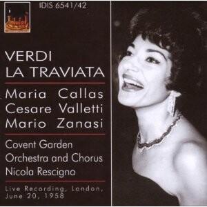 Verdi - La Traviata by Callas, Valletti, Zanasi, Collier and N. Rescigno-Voices and Orchestra-Opera Collection