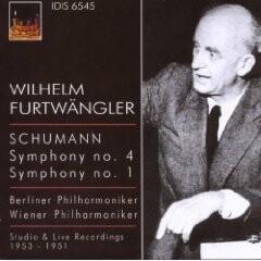 Furtwangler Conducts Schumann-Orchester-Orchestral Works