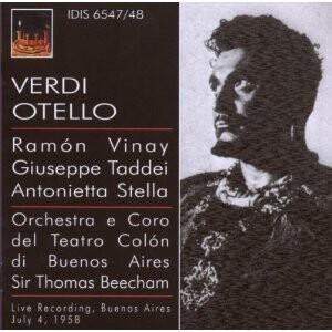 Verdi - Otello - Sir Thomas Beecham, conductor-Voices and Orchestra-Opera Live