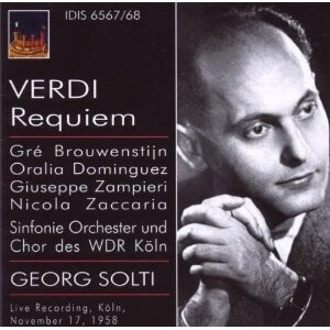 Verdi  - Requiem - Brouwenstijn, Dominguez, Zampieri, Zaccaria, etc.-Voices and Orchestra-Funeral Music