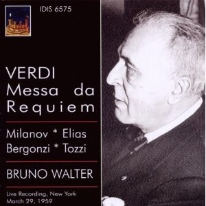 Giuseppe Verdi - Messa Da Requiem - Bruno Walter-Voices and Orchestra-Funeral Music