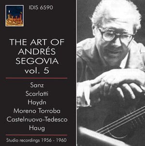 The Art of Andrés Segovia, Vol.5-Guitar-Great Performers