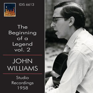 The Beginning of a Legend, Vol.2: John Williams and Jose Rey de la Torre play Bach, Villa Lobos, Crespo, etc.-Guitar-Great Performers