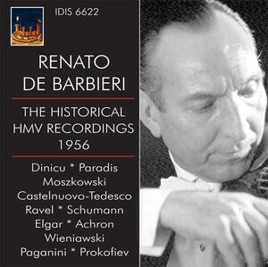 Renato de Barbieri (violin)- The historical HMV Recordings - 1956-Violin