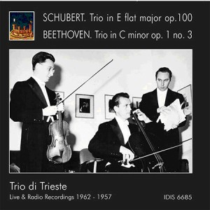 SCHUBERT Trio in E flat Major op 100 - BEETHOVEN Trio in C minor op 1 no 3-Ensemble