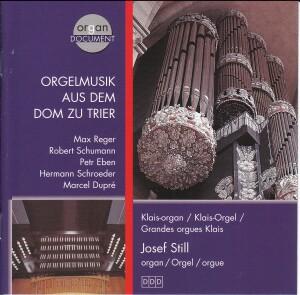 Trierer Dom - Josef Still - Organ Music - Faszination Kathedralraum Vol.10-Organ-Organ Collection