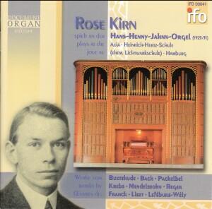 HANS-HENNY-JAHNN-ORGEL (1925/31) - Hamburg - Rose Kirn, organ-Organ-Organ Collection