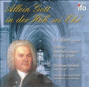 J. S. BACH - Allein Gott in der Höh´ sei Ehr´ - Christian Schmitt, organ-Organ-Organ Collection