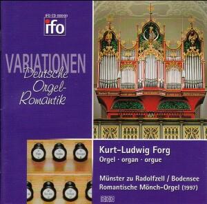 VARIATIONEN - Deutsche Orgelromantik - Kurt-Ludwig Ford, organ-Organ-Organ Collection