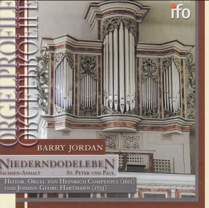 ORGELPROFILE - St. Peter und Paul Niederndodeleben  - Barry Jordan, organ-Organ-Organ Collection