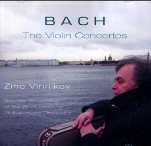 Zino Vinnokov, violin - J.S. BACH - The Violin Concertos -Violin and Orchestra-Violin Concerto