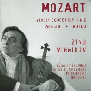 W.A. Mozart -  Violin Concertos 1and 2 - Adagio - Rondo - Zino Vinnikov, violin-Violin and Orchestra-Violin Concerto