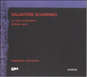 Salvatore Sciarrino - Le voci sottovetro, Infinto nero-Voices and Chamber Ensemble-Vocal Collection