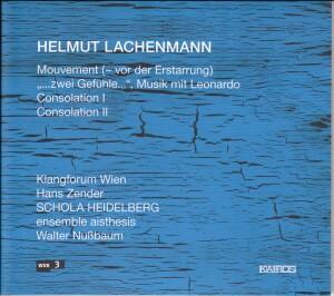 Helmut Lachenmann - Mouvement (-vor der Erstarrung)-Chamber Ensemble-Chamber Music