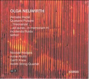 Olga Neuwirth - Chamber Music - Akroate Hadal, Quasare/Pulsare; ...?risonanze!...; etc.-Piano
