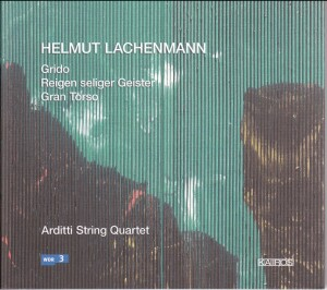 Helmut Lachenmann - Streichquartette - String Quartets-String instruments