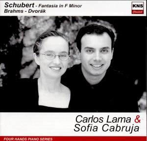 Carlos Lama and Sofia Cabruja - Piano Four Hands - Schubert - Brahms - Dvorak-Piano-Instrumental