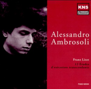 Alessandro Ambrosoli - Franz Liszt - 12 Études d'exécution transcendante-Piano-Instrumental