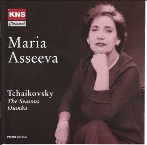 P.I.Tchaikovsky - The Seasons, Dumka - Maria Asseeva, piano-Piano-Instrumental