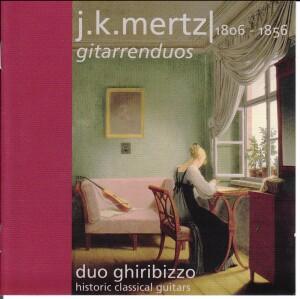 J.K.Mertz - Girarrenduos - Duo Ghiribizzo, historical guitars-Guitar-Romantic Period