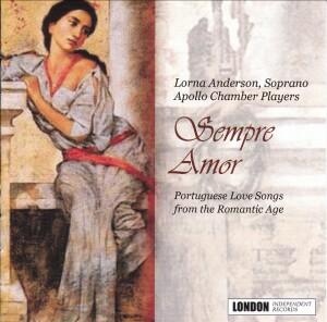 Lorna Anderson - The Apollo Chamber Players - Sempre Amor , (Portuguese modinhas)-Romantic Music