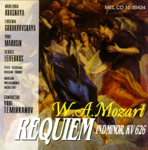 W.A. Mozart - Requiem in D minor, KV 626-Voices and Orchestra-Requiem