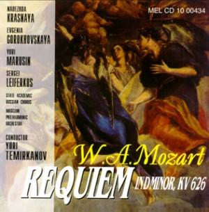 W.A. Mozart - Requiem in D minor, KV 626-Voices and Orchestra-Requiem