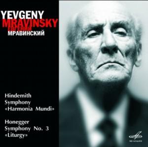 "E. Mravinsky - Leningrad Philharmonic Orchestra - Hindemith -""Harmonia Mundi"" - Honegger- Symphony No. 3 ""Liturgy"" -Orchestr-Symphony"