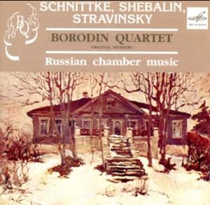 Schnittke - Shebalin - Stravinsky - Borodin Quartet - Russian Chamber Music-Quartet-Chamber Music