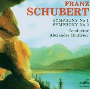 Franz Schubert - Symphony No. 1, 2 - Leningrad Philharmonic Symphony Orchestra - A. Dmitriev-Orchestr-Symphony