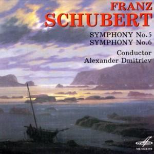 Franz Schubert - Symphony No. 5, 6 - Leningrad Philharmonic Symphony Orchestra - A. Dmitriev-Orchestra-Symphony