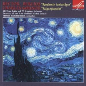 Berlioz - Symphonie Fantastique - Gounod - Walpurgisnacht - G. Rozdestvensky-Orchestra-Orchestral Works