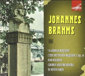 J. Brahms- German Requiem (Ein Deutsches Requiem, Op. 45), (Live)  - For Soloists, Chorus and Orch. In Seven Parts-Voice and Organ-Requiem