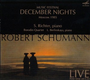 Schumann - Music Festival December Nights, Moscow 1985 (Live) - S. Richter, piano - L. Berlinskaya, piano - Borodin Quartet-Piano and Quartet-Chamber Music