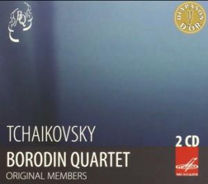 P.I. Tchaikovsky - Borodin Quartet - Original Members - String Quartets Nos. 1-3 and Souvenir de Florence-Quartet-Chamber Music