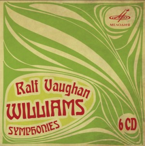 R. Vaughan Williams - Symphonies Nos. 1-9 - USSR State Symphony Orchestra, USSR Ministry of Culture - Gennady Rozhdestvensky-Orchestre-Symphony